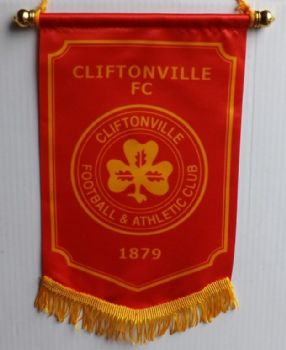 Cliftonville Pennant - Gold trim
